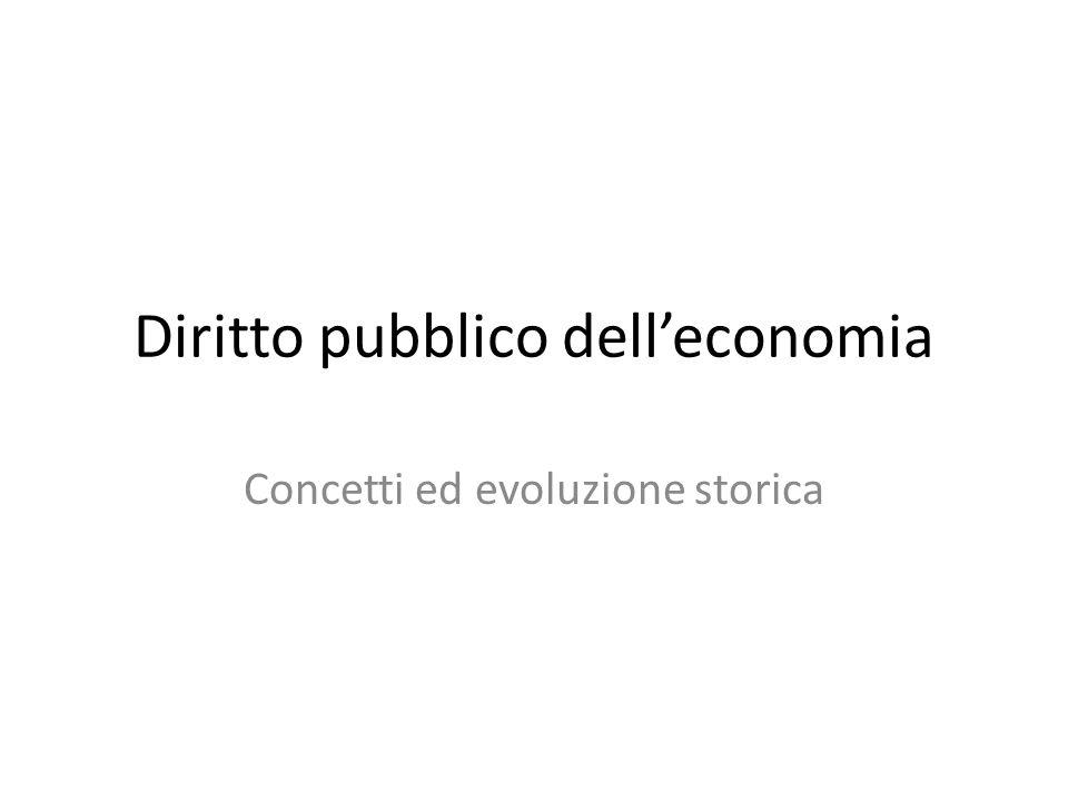 Diritto pubblico dell'economia