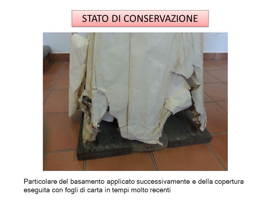 STATO DI CONSERVAZIONE