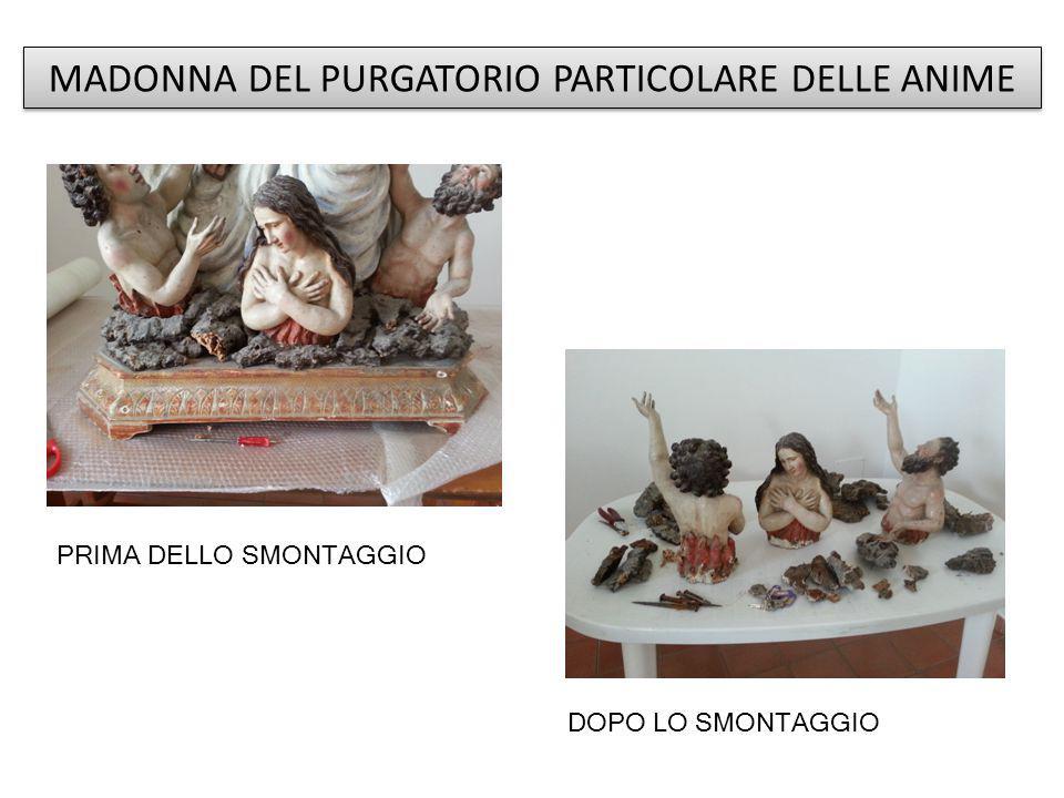 MADONNA DEL PURGATORIO PARTICOLARE DELLE ANIME