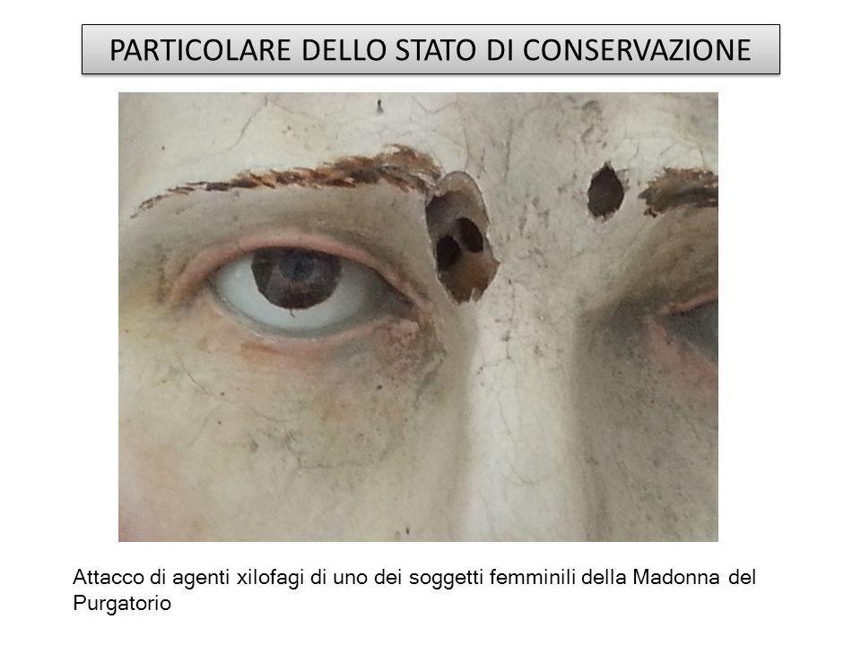 PARTICOLARE DELLO STATO DI CONSERVAZIONE
