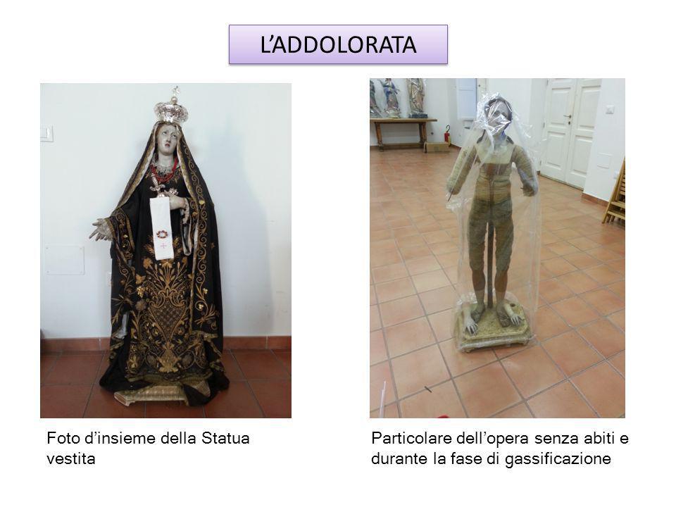 L'ADDOLORATA Foto d'insieme della Statua vestita
