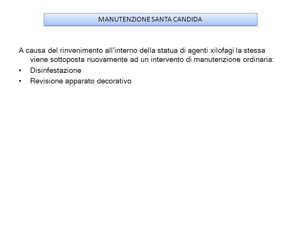 MANUTENZIONE SANTA CANDIDA