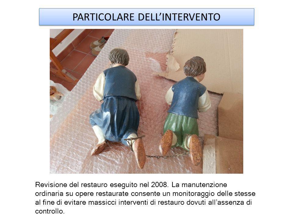 PARTICOLARE DELL'INTERVENTO