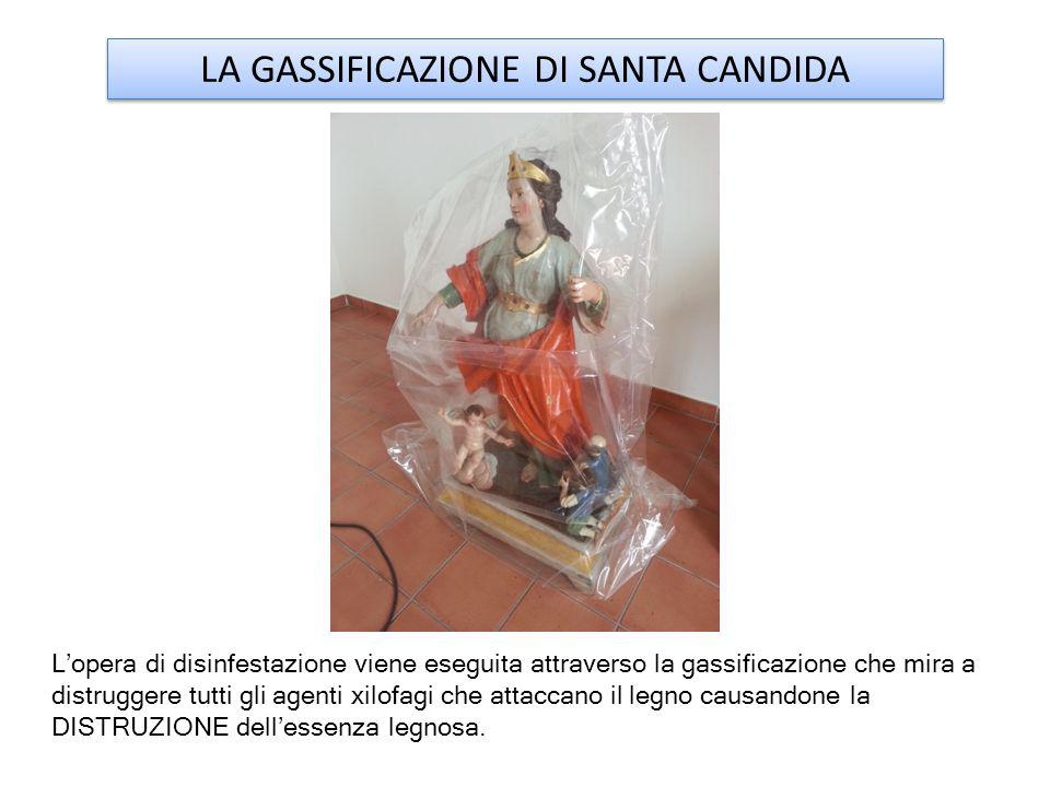LA GASSIFICAZIONE DI SANTA CANDIDA