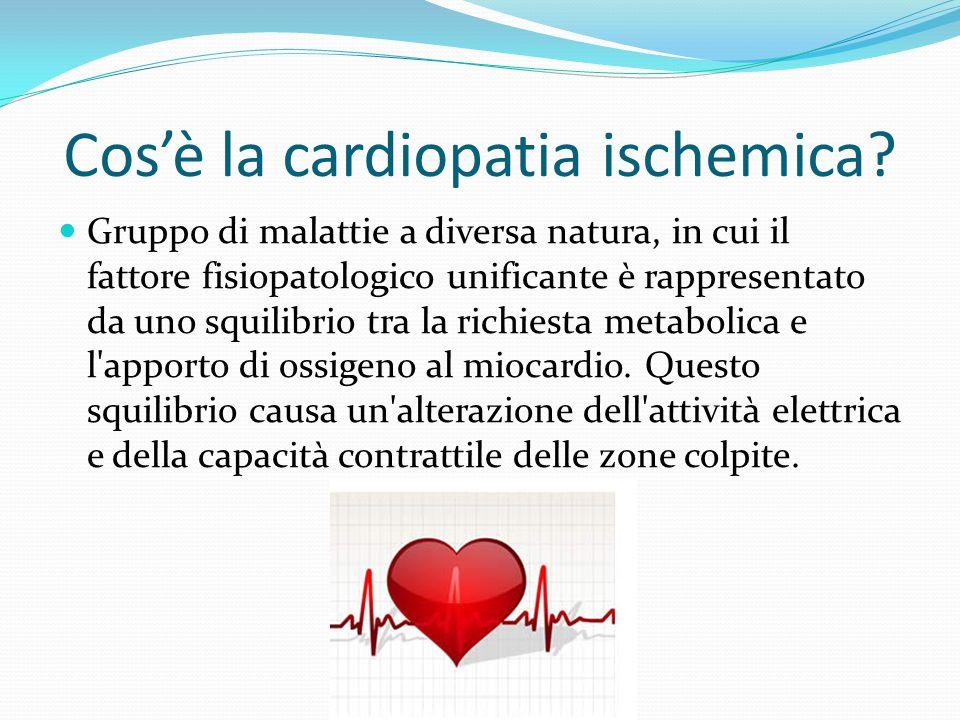 Cos'è la cardiopatia ischemica