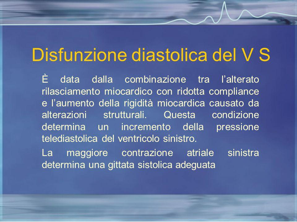 Disfunzione diastolica del V S