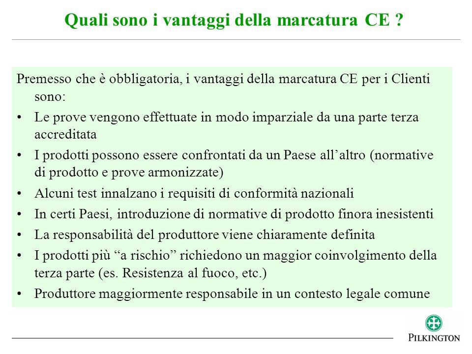 Quali sono i vantaggi della marcatura CE