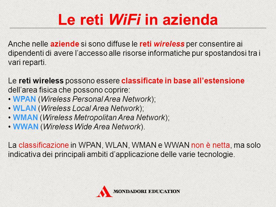 Le reti WiFi in azienda