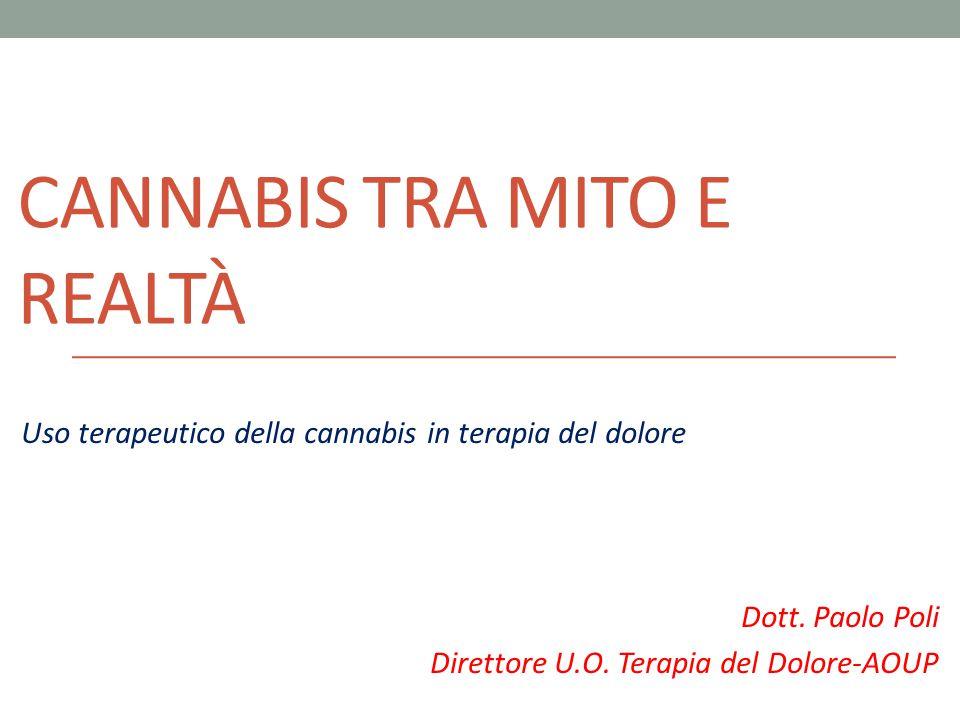 Cannabis tra mito e realtà