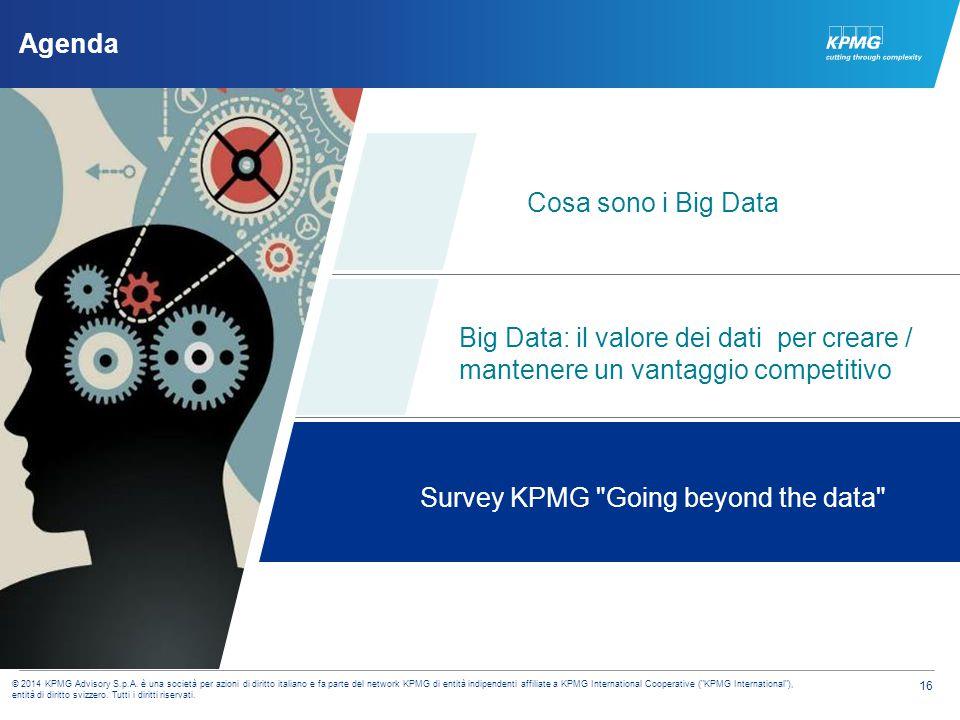 KPMG Going beyond the data survey Meeting change head-on