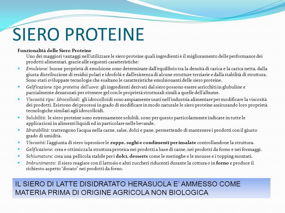 SIERO PROTEINE