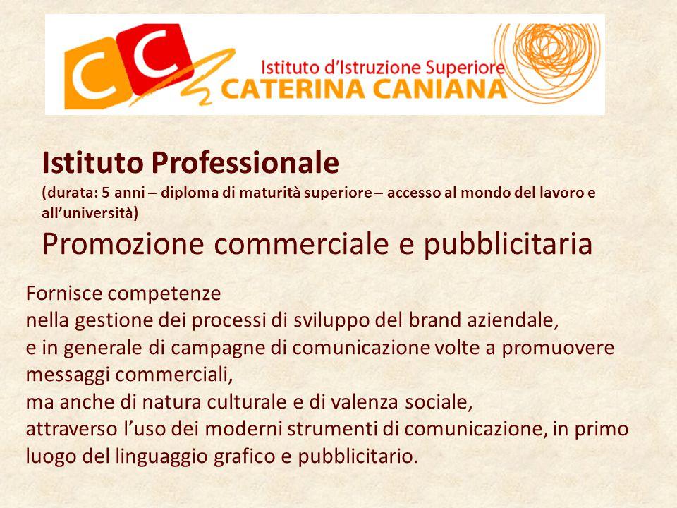 Istituto Professionale Promozione commerciale e pubblicitaria