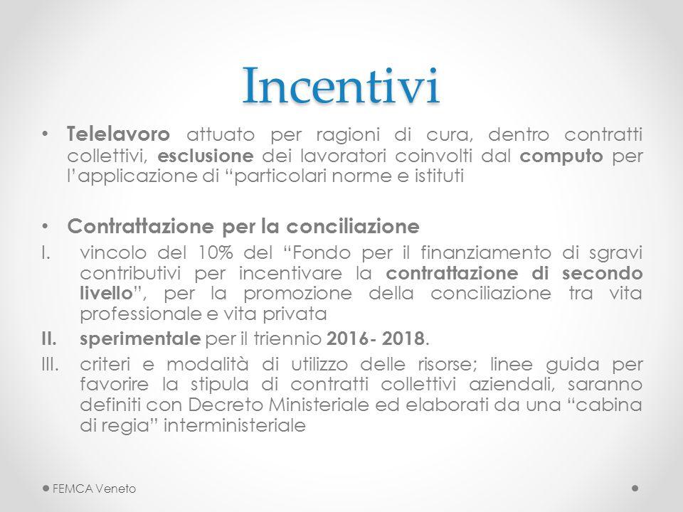 Incentivi