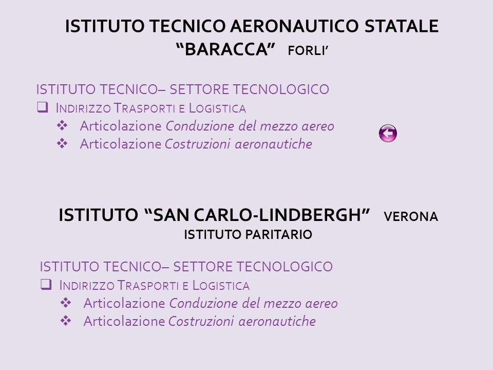 ISTITUTO TECNICO AERONAUTICO STATALE BARACCA FORLI'
