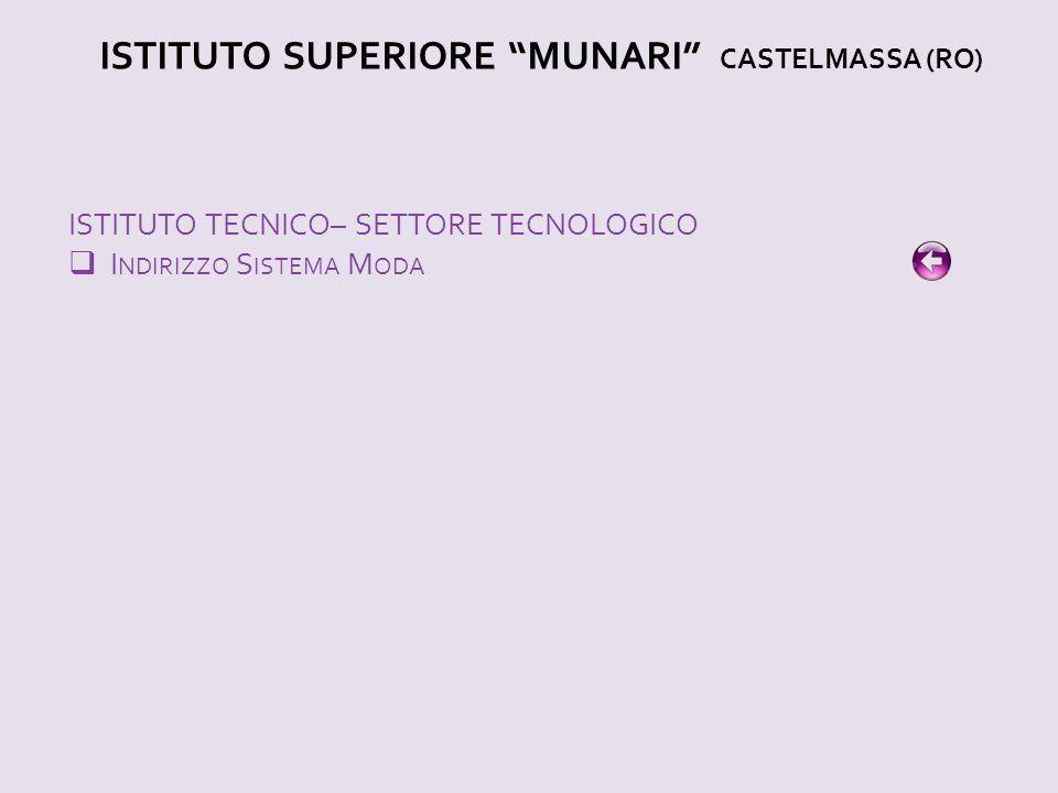 ISTITUTO SUPERIORE MUNARI CASTELMASSA (RO)