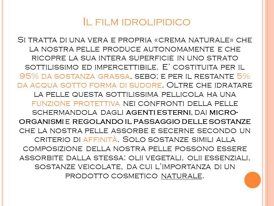 Il film idrolipidico