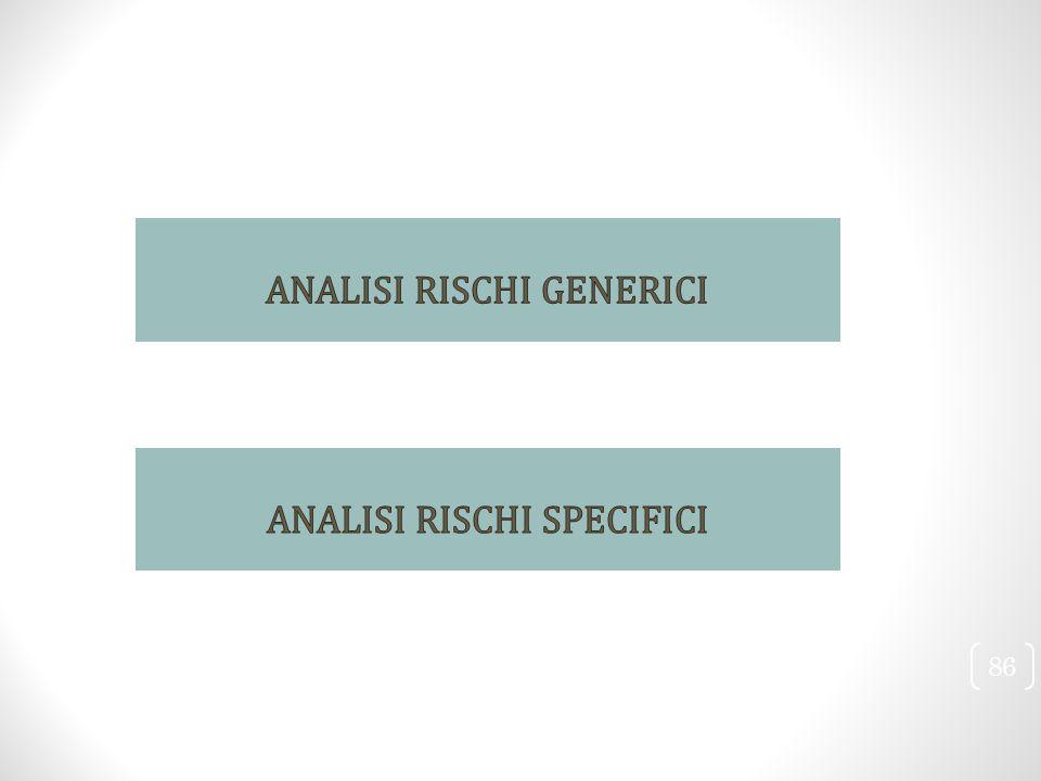ANALISI RISCHI GENERICI