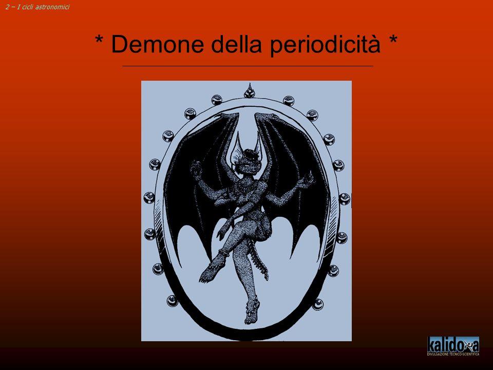 * Demone della periodicità *