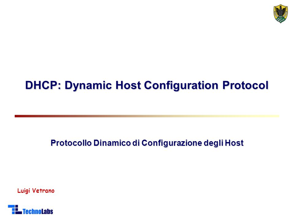 DHCP: Dynamic Host Configuration Protocol