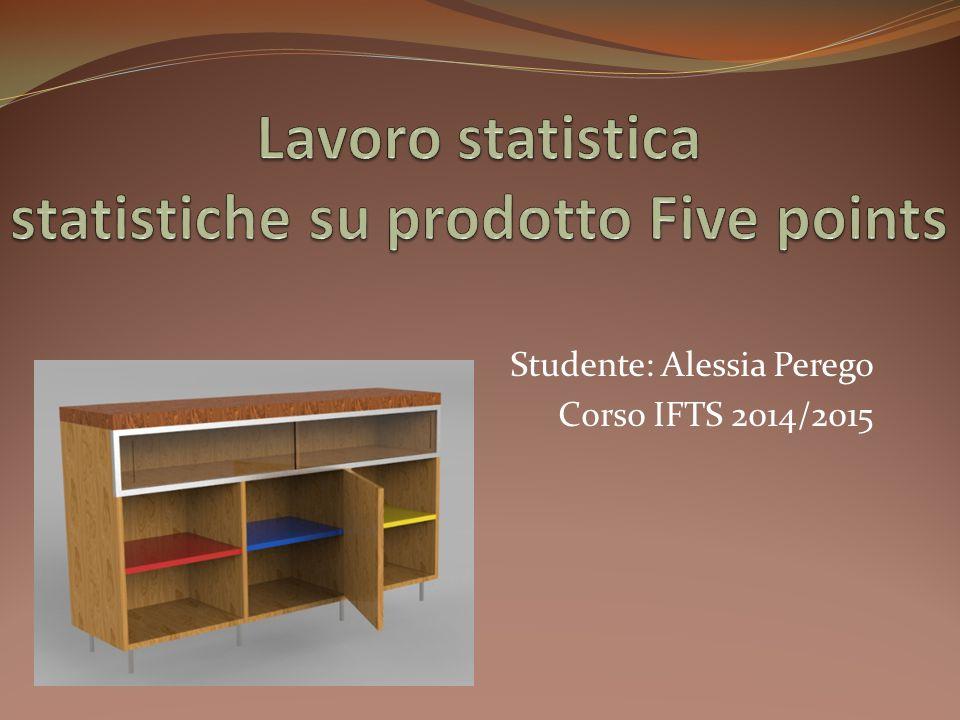 Lavoro statistica statistiche su prodotto Five points