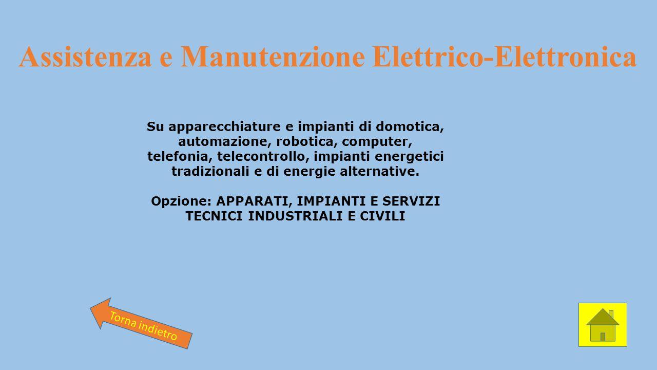 Assistenza e Manutenzione Elettrico-Elettronica
