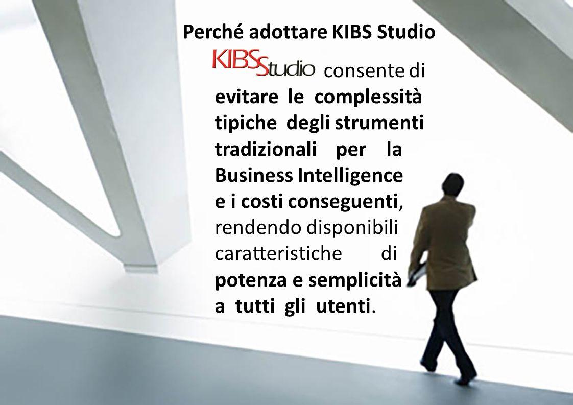 Perché adottare KIBS Studio