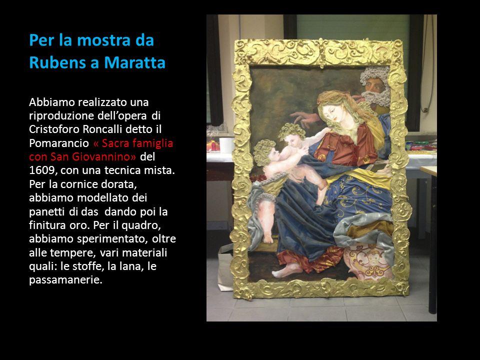 Per la mostra da Rubens a Maratta