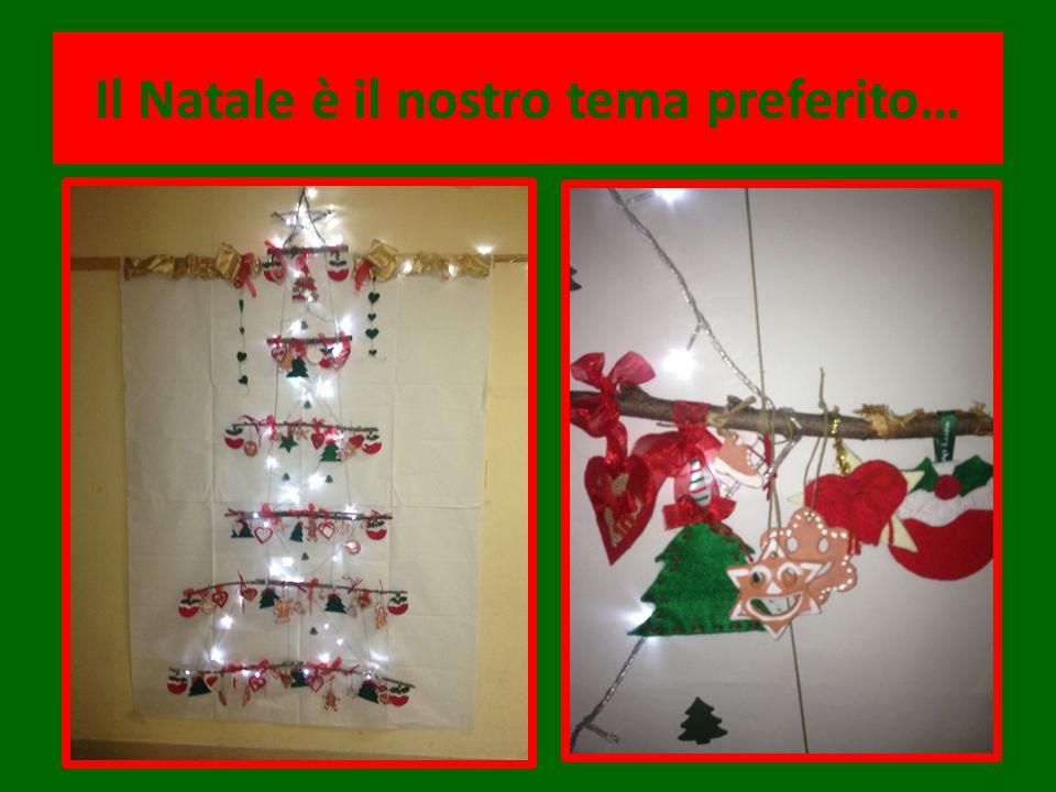 Il Natale è il nostro tema preferito…