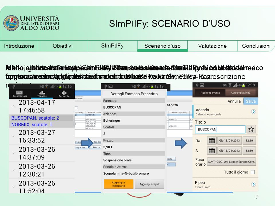 SImPlIFy: SCENARIO D'USO