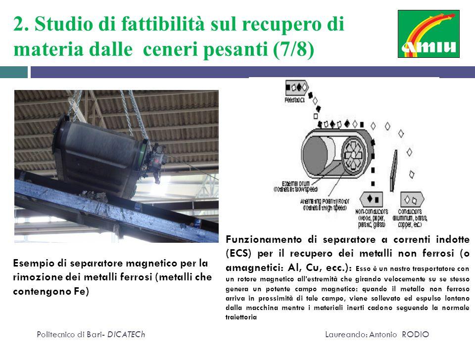 2. Studio di fattibilità sul recupero di materia dalle ceneri pesanti (7/8)