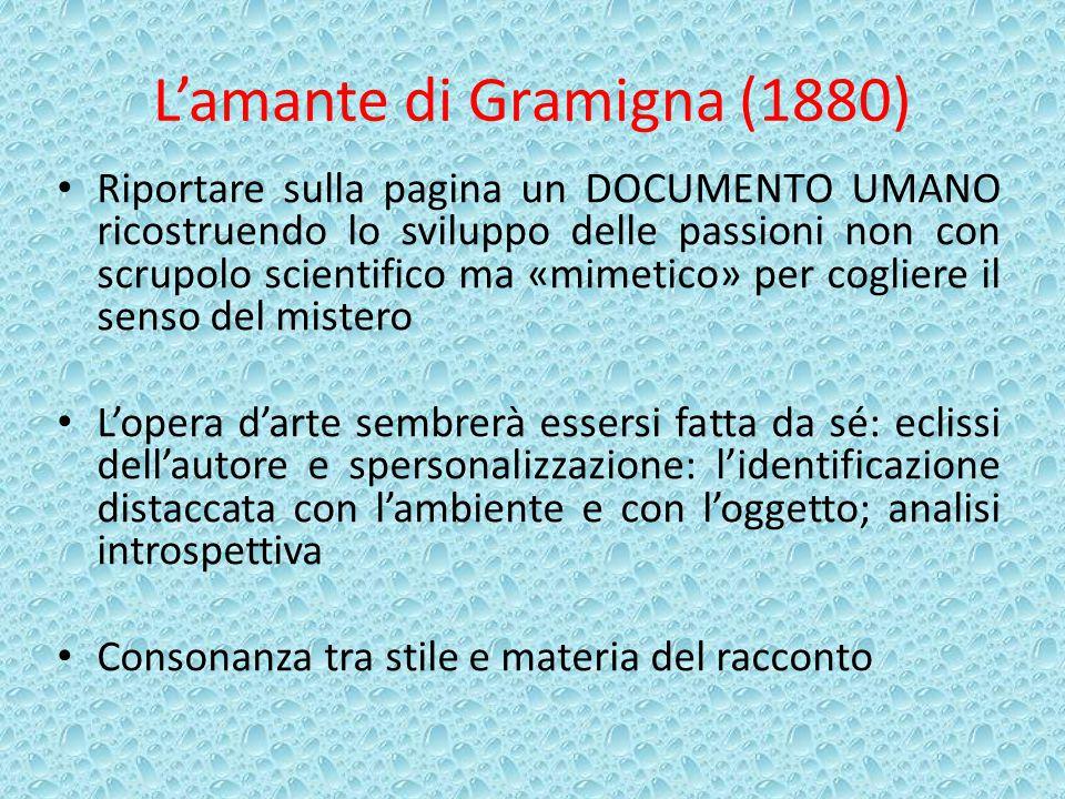L'amante di Gramigna (1880)