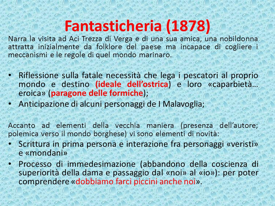 Fantasticheria (1878)