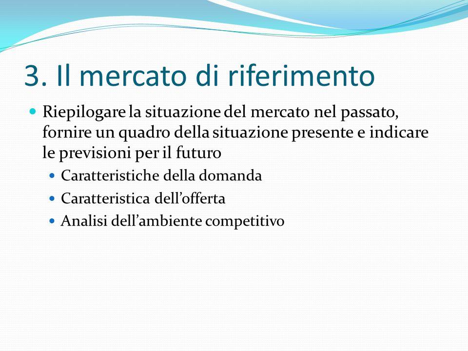 3. Il mercato di riferimento
