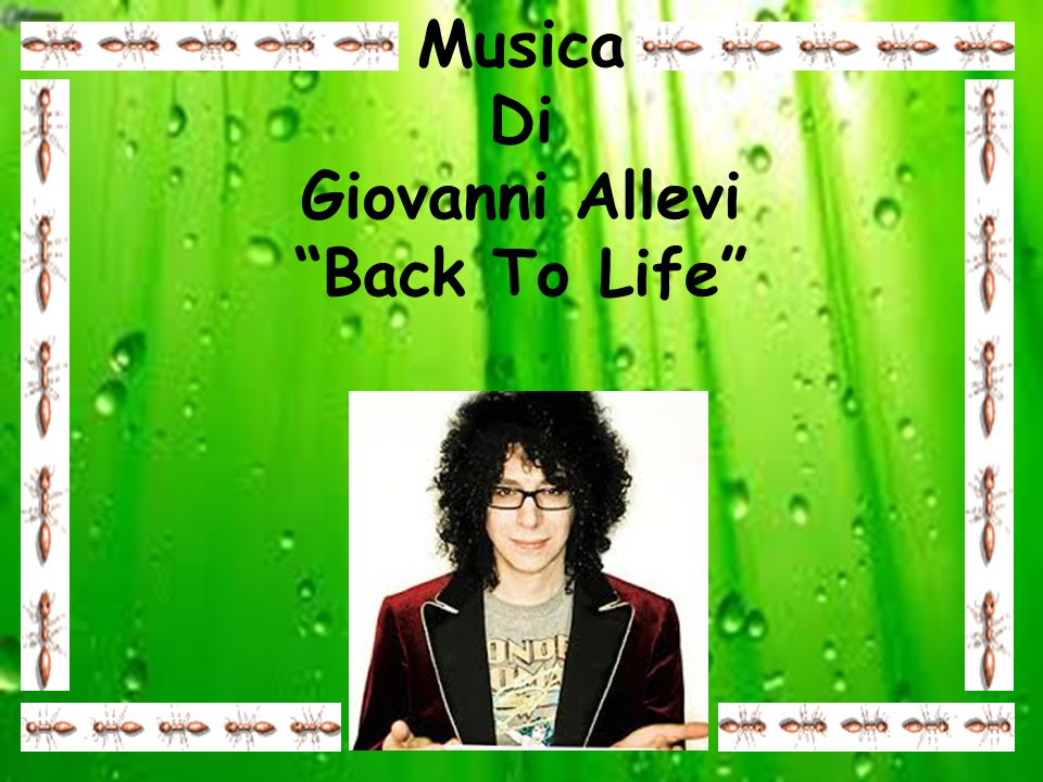 Musica Di Giovanni Allevi Back To Life