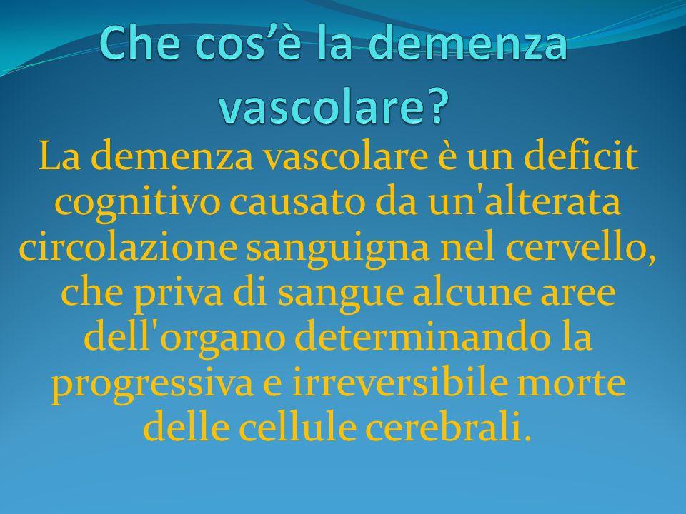 Che cos'è la demenza vascolare