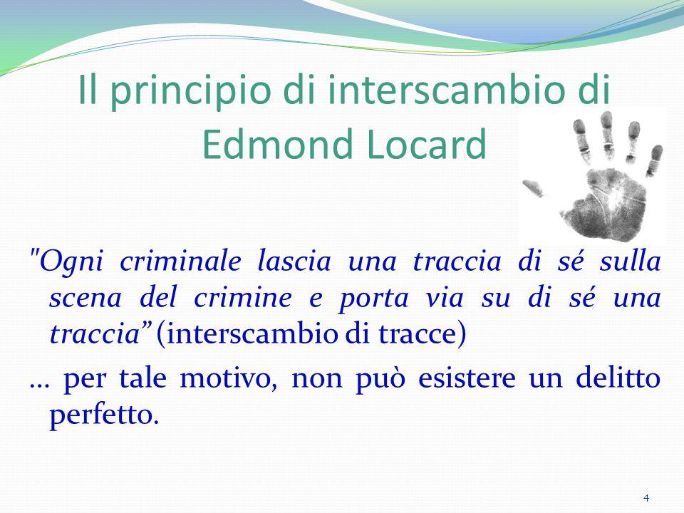 Il principio di interscambio di Edmond Locard