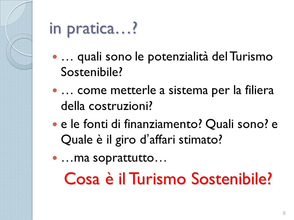 Cosa è il Turismo Sostenibile