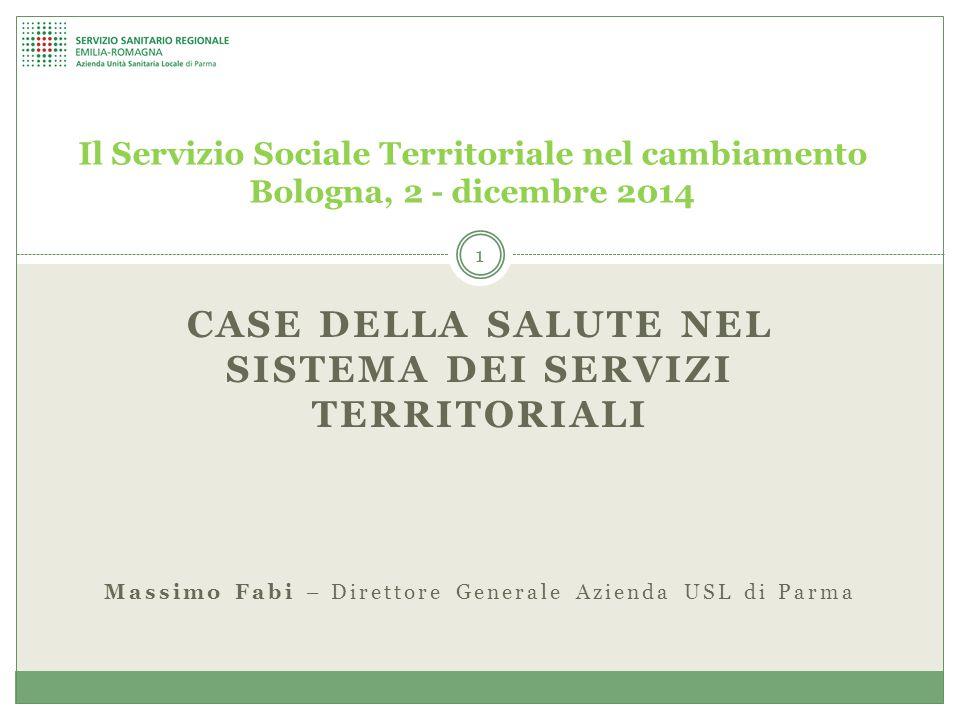 Case della salute nel sistema dei servizi territoriali