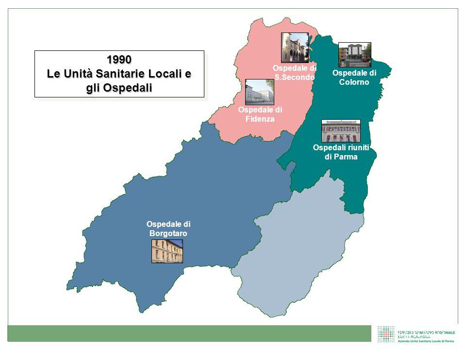 Le Unità Sanitarie Locali e gli Ospedali