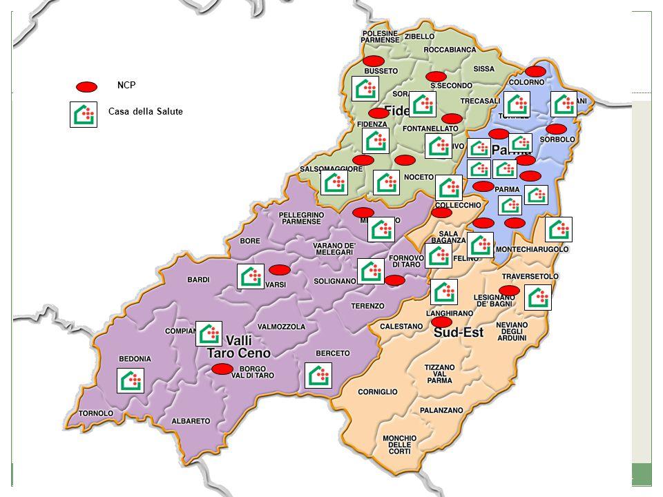 NCP Casa della Salute. 16. Modelli e strumenti per il governo della rete dell'assistenza territoriale - Testimonianza AUSL di Parma.