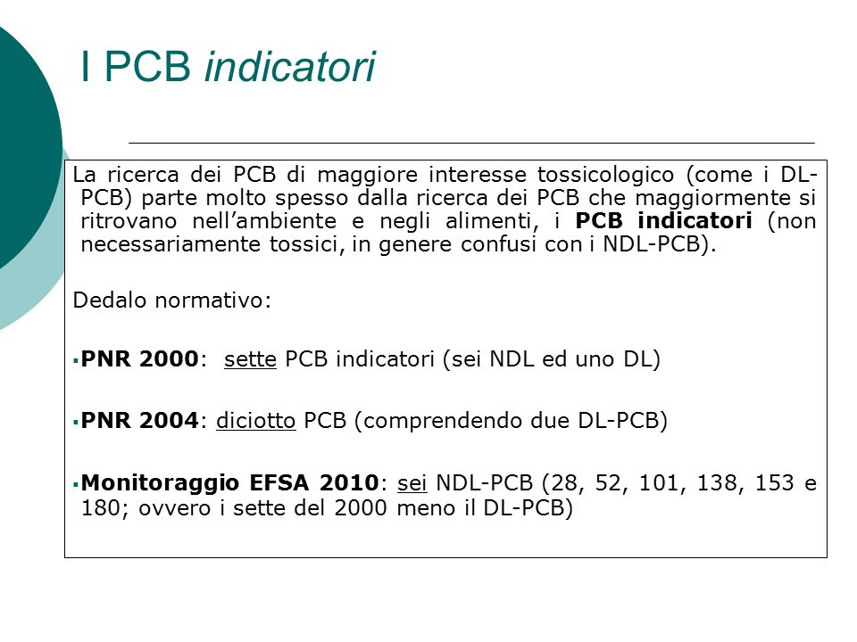 I PCB indicatori