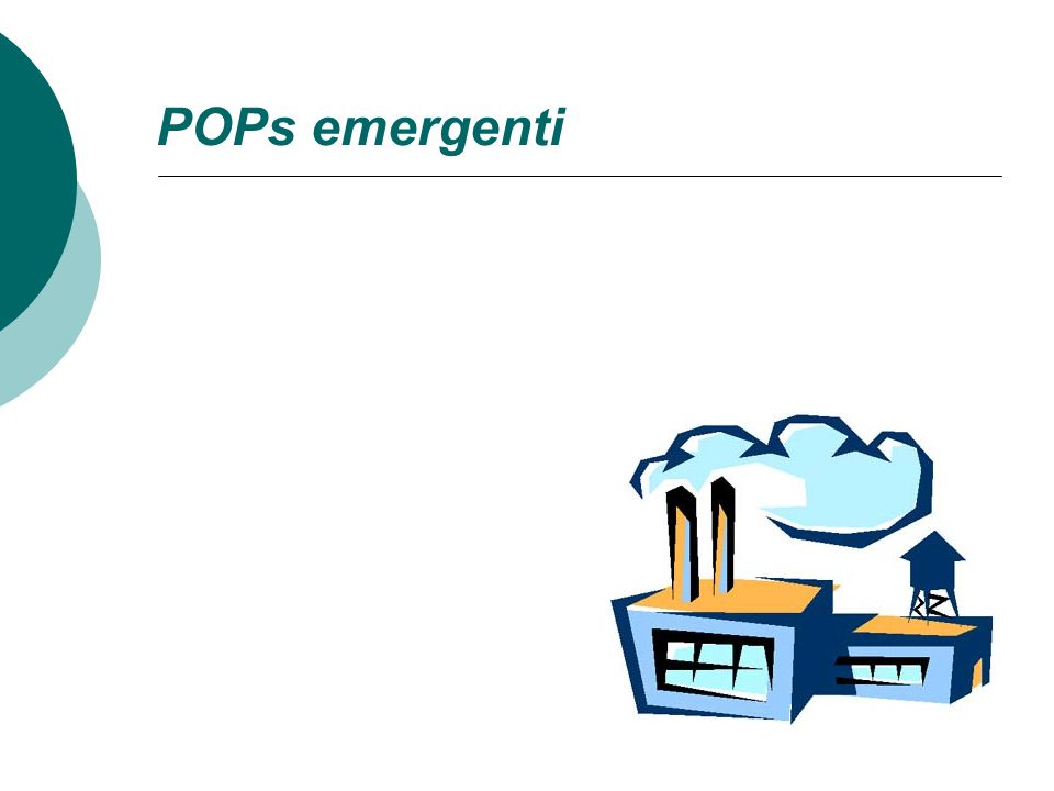 POPs emergenti