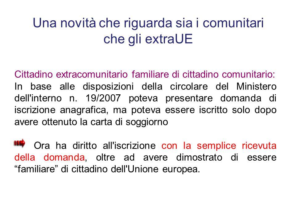 Beautiful Carta Di Soggiorno Familiari Di Cittadini Ue Ideas - Idee ...