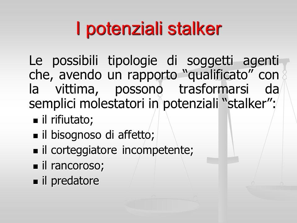I potenziali stalker