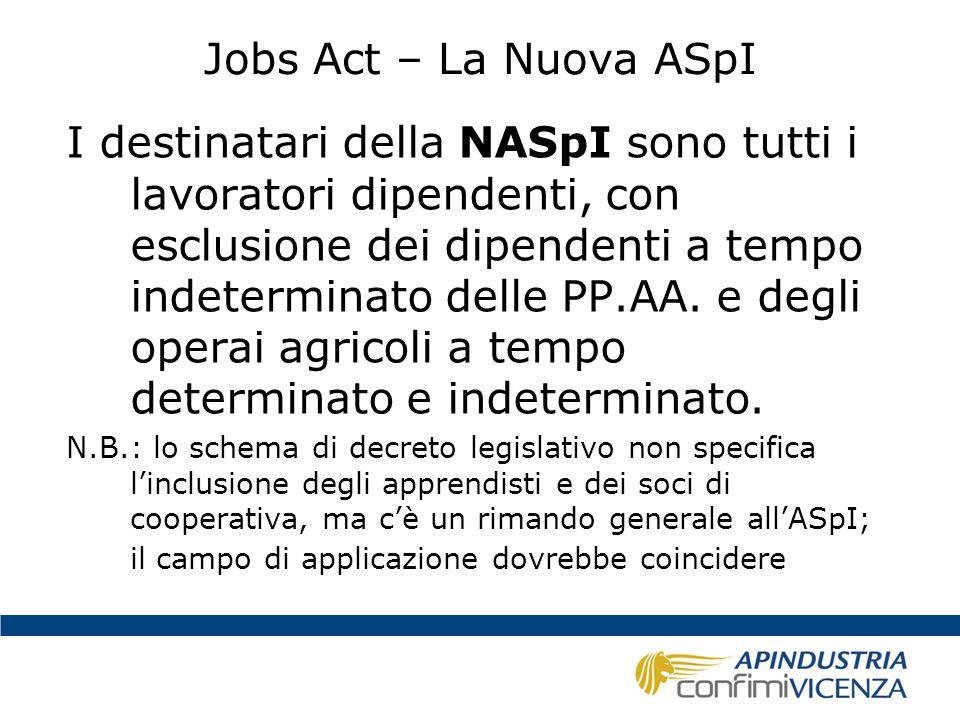 Jobs Act – La Nuova ASpI