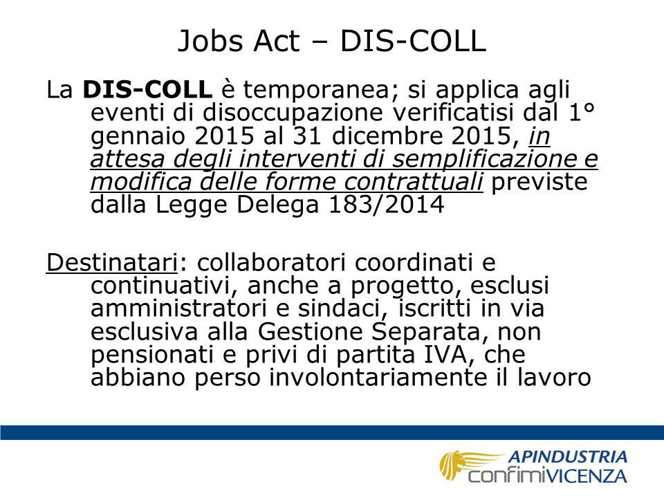 Jobs Act – DIS-COLL