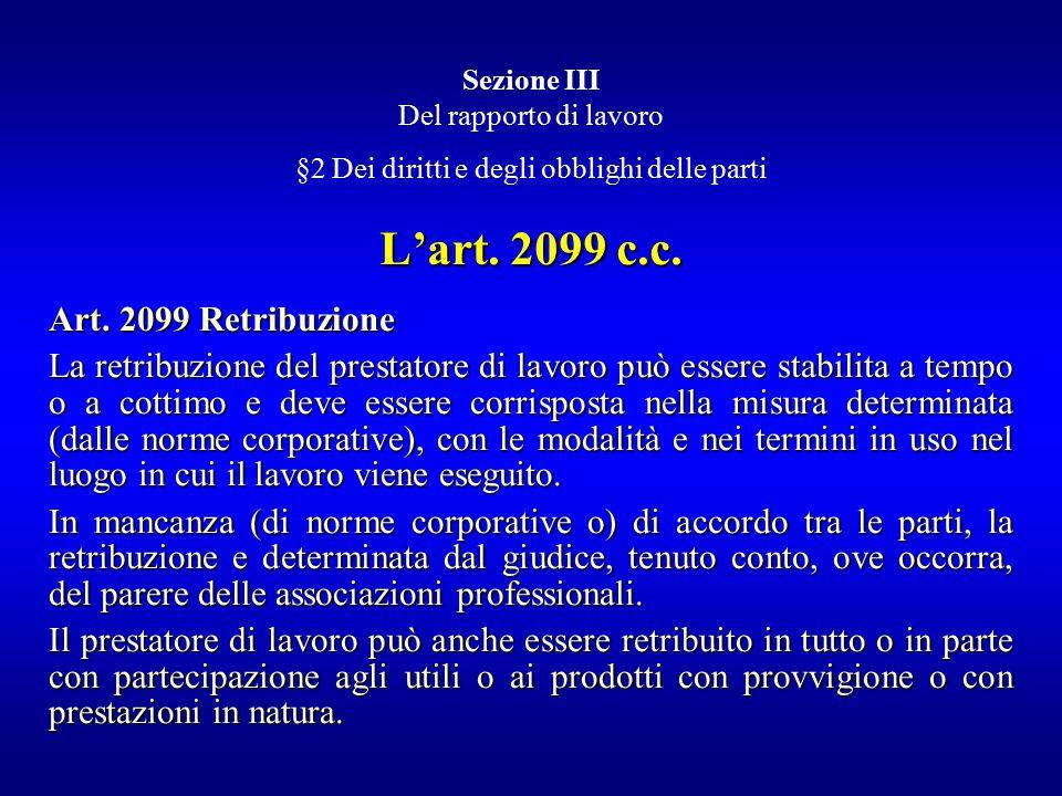 §2 Dei diritti e degli obblighi delle parti