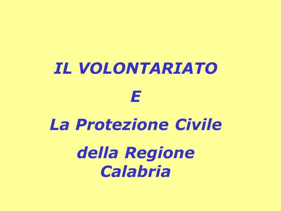della Regione Calabria
