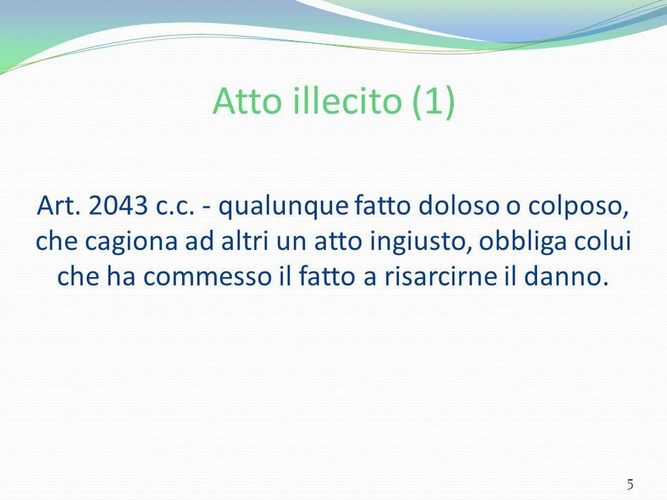 Atto illecito (1)