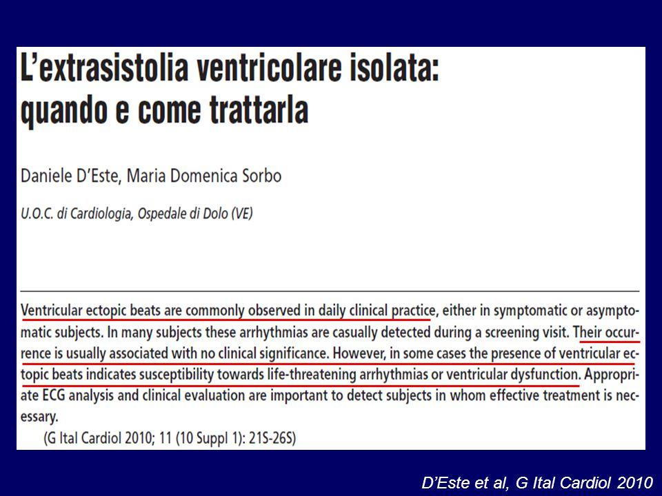 D'Este et al, G Ital Cardiol 2010